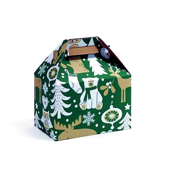 Woodland Critters Gable Boxes
