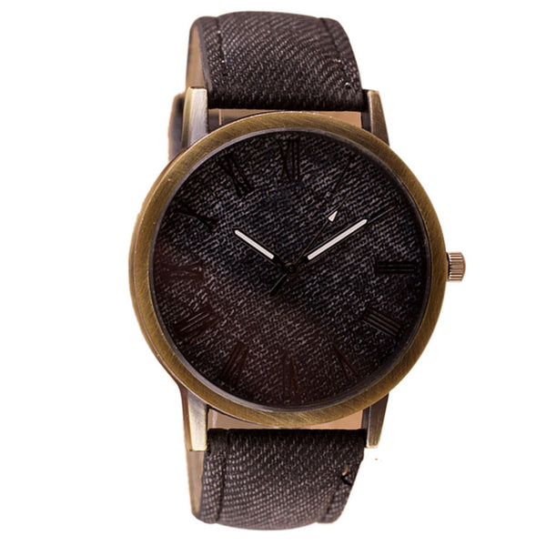 Watches Vintage Retro Leather Analog Quartz - BravMART