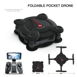Newest  E55 Mini WiFi  Foldable  DRONE With High Hold Mode RC Quadcopter - BravMART