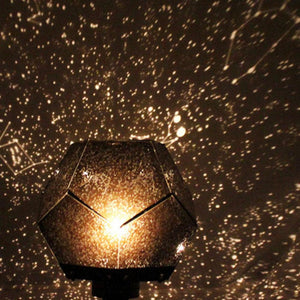 USB Romantic Star Sky Laser Projector Light Cosmos Christmas Night Light LED Starlight Projection Lamp Bedroom Decoration - House Sort
