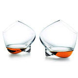 Crystal Liquor Belly Glasses