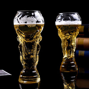 World Cup High-Borosilicate Trophy-shape Cocktail, Beer Glass.