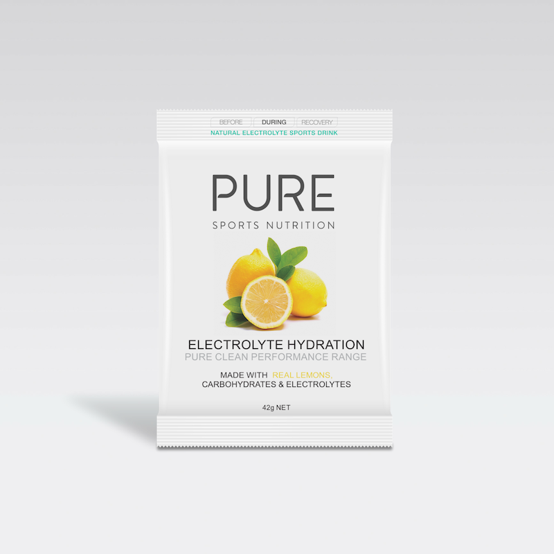 PURE NUTRITION | Electrolyte Hydration Single Serve Sachet 42g - Lemon