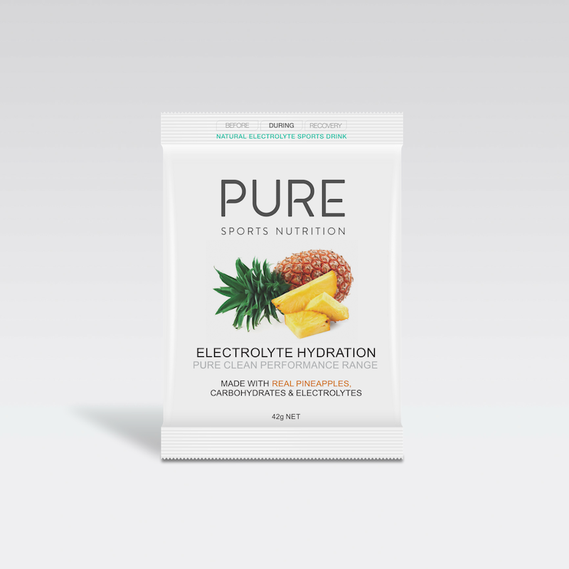 PURE NUTRITION | Electrolyte Hydration Single Serve Sachet 42g - Pineapple