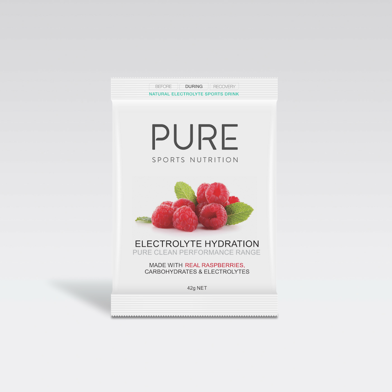 PURE NUTRITION | Electrolyte Hydration Single Serve Sachet 42g - Raspberry