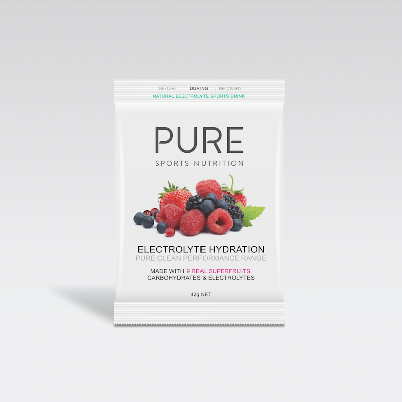 PURE NUTRITION | Electrolyte Hydration Single Serve Sachet 42g - Superfruit