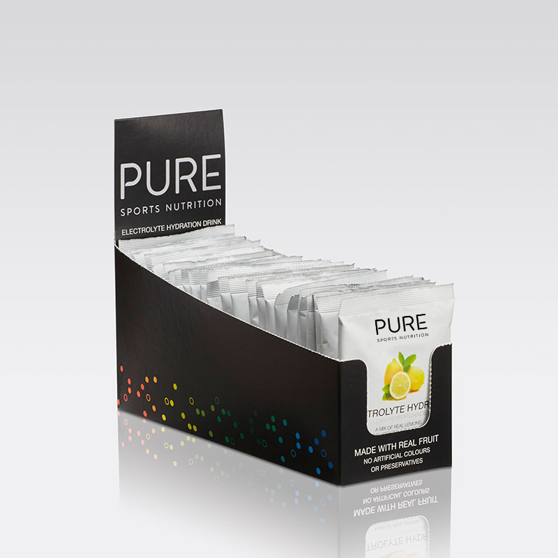 PURE NUTRITION | Electrolyte Hydration Sachet Box 25 Sachets - Lemon