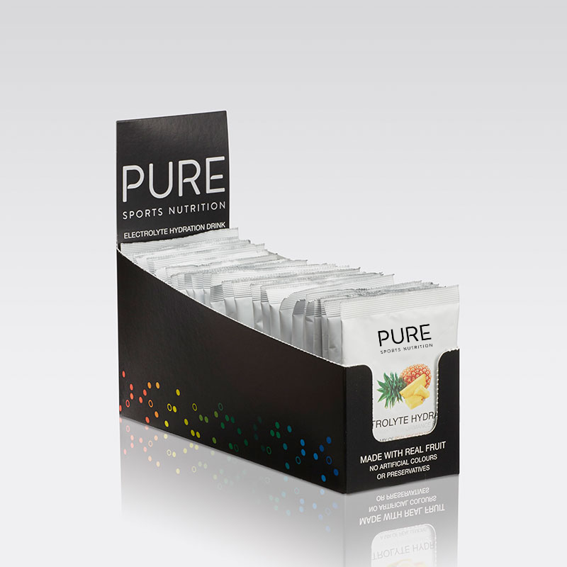 PURE NUTRITION | Electrolyte Hydration Sachet Box 25 Sachets - Pineapple