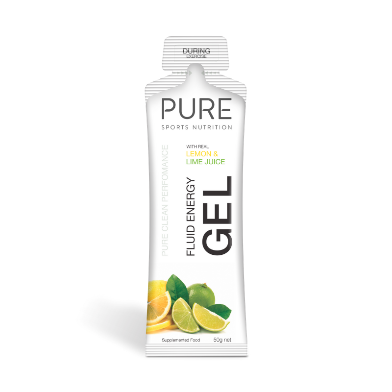 PURE NUTRITION | Fluid Energy Gels 50g - Lemon & Lime Juice