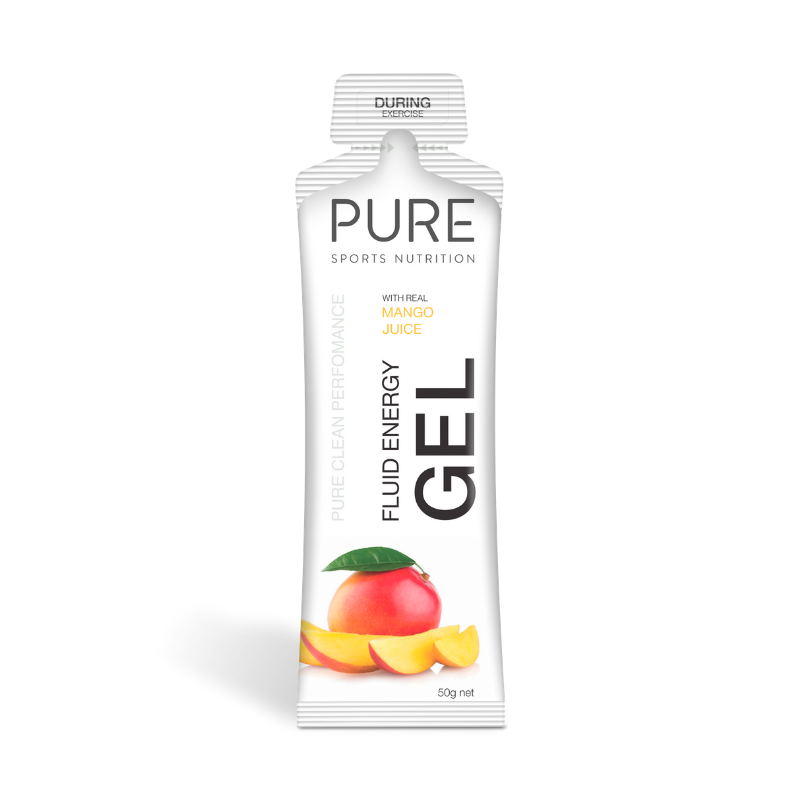 PURE NUTRITION | Fluid Energy Gels 50g - Mango Juice