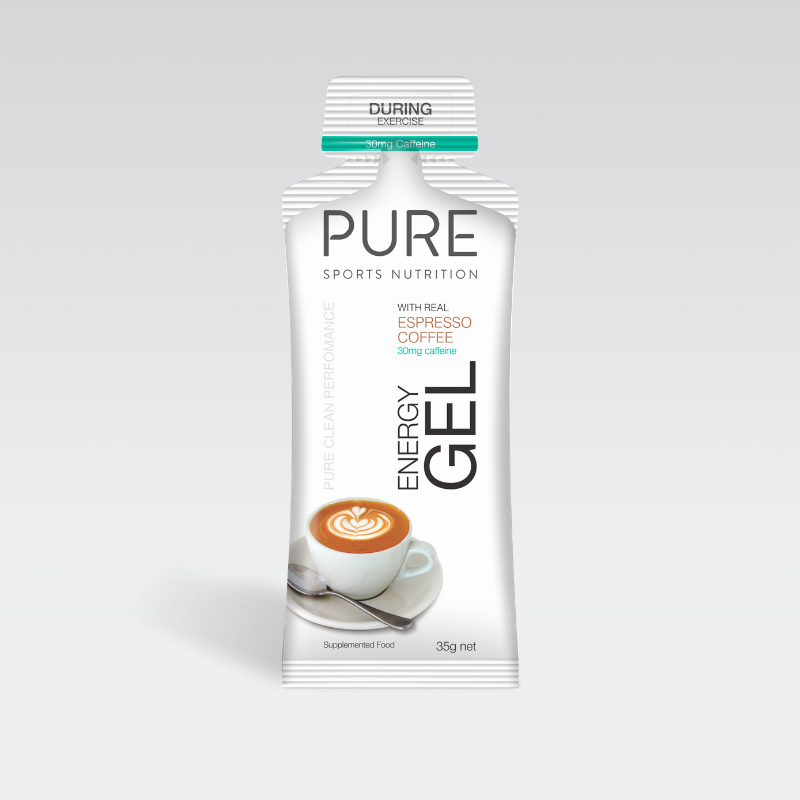 PURE Nutrition | 35g Energy Gel - Espresso Coffee