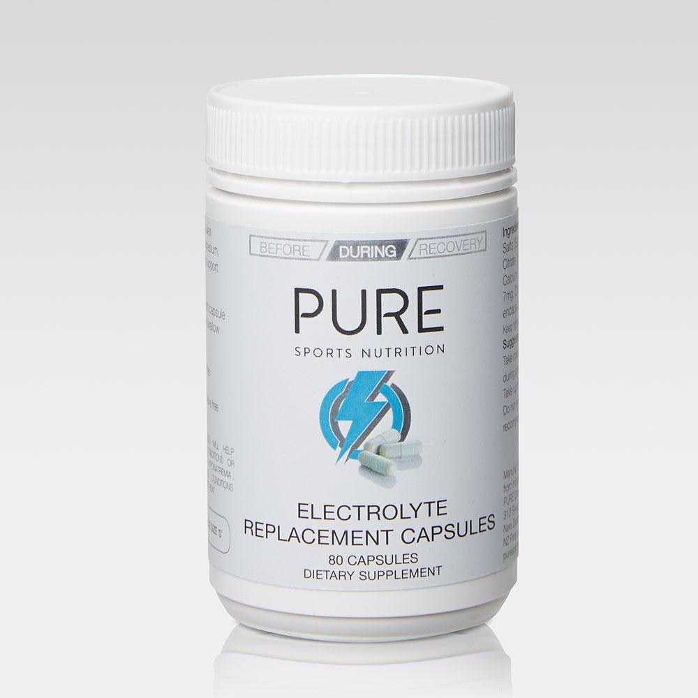 PURE Electrolyte Replacement Capsules | 80 Capsules