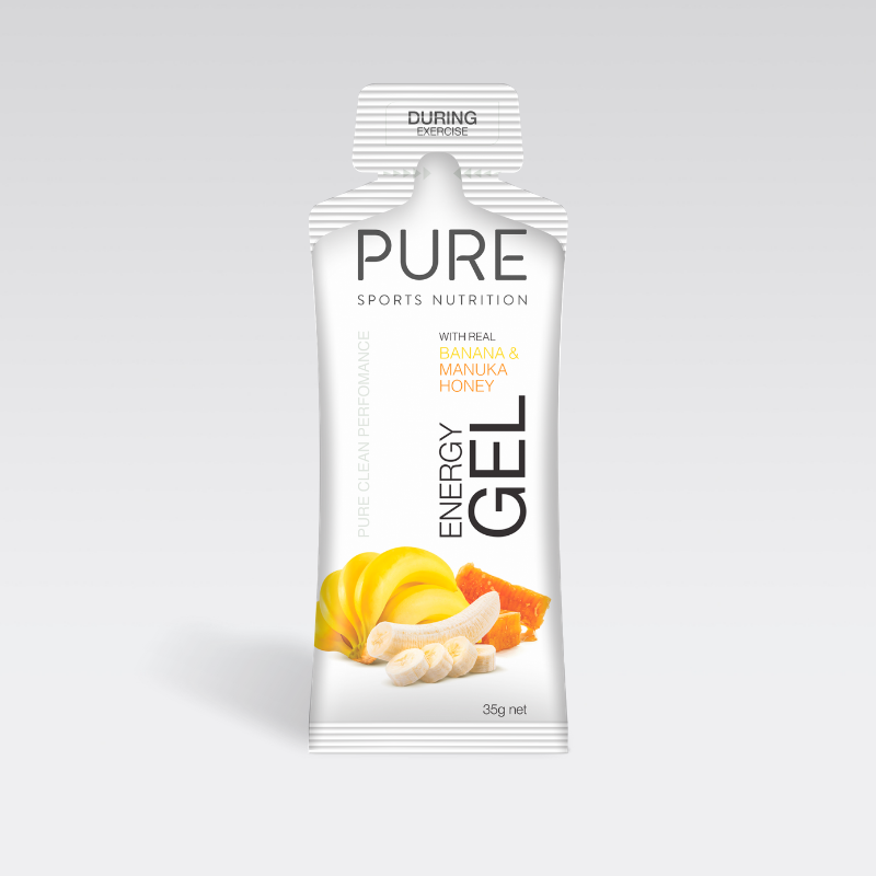 PURE Nutrition | 35g Energy Gel - Banana & Manuka Honey