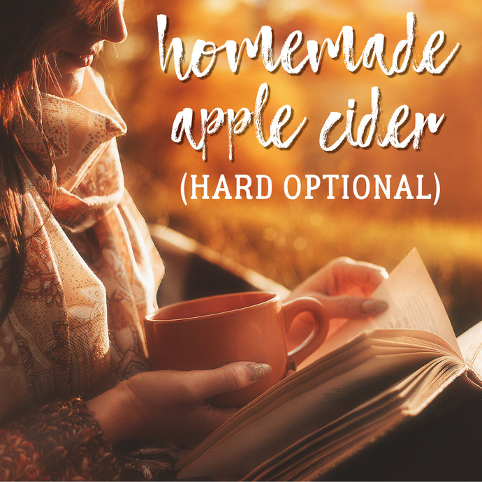 Homemade Apple Cider & Fall Spotify Playlist