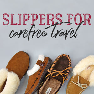 Slippers for Carefree Travel
