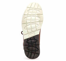 Load image into Gallery viewer, Fashionable outdoor boots for men with leather upper, rubber outsole, and sturdy laces.