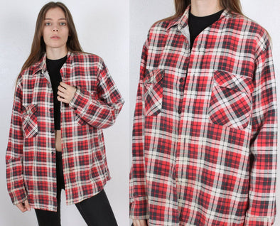 Vintage 70s Plaid Jacket