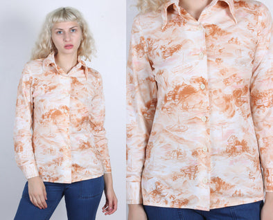 70s Rural China Blouse
