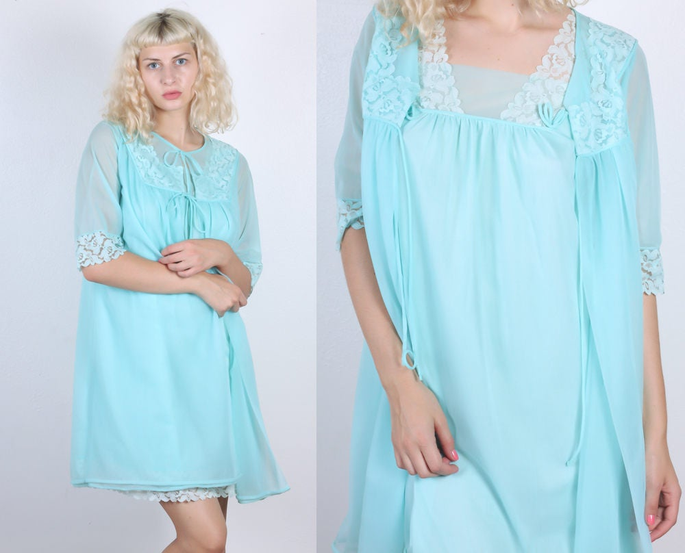 60s Henson Kickernick Nightie and Robe