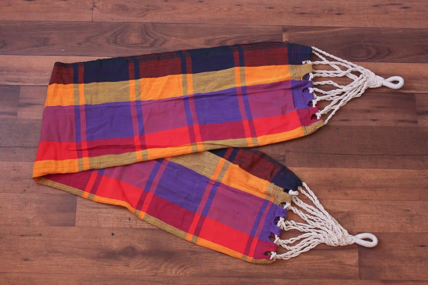 Vintage Plaid Hammock