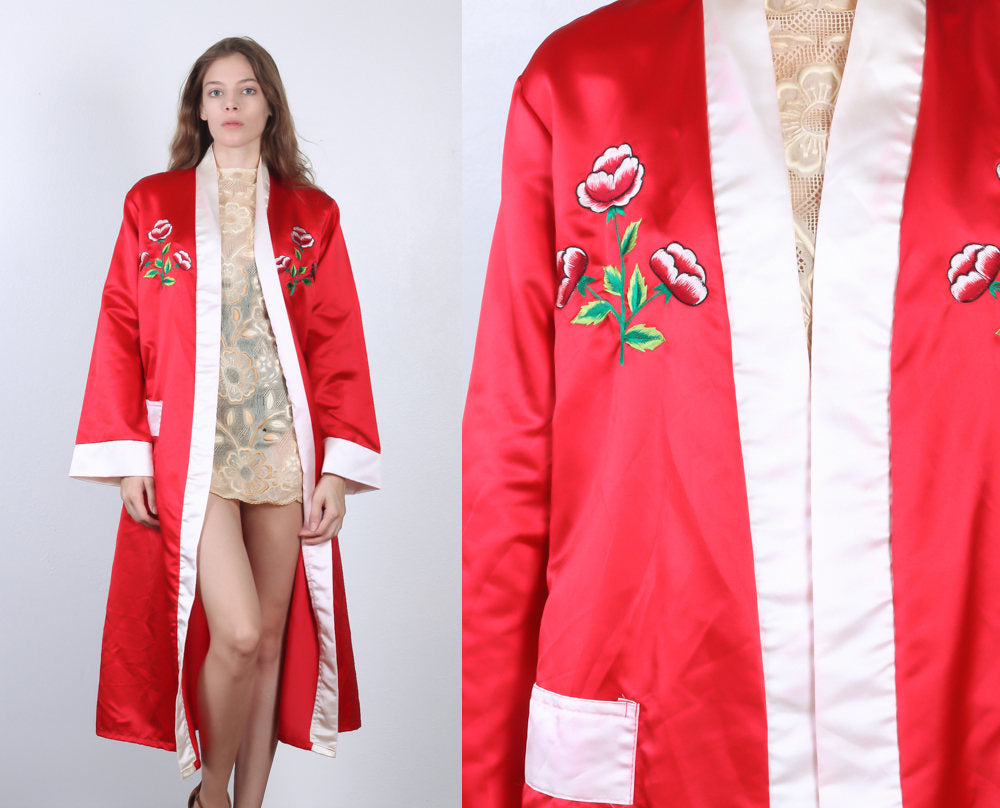 Vintage Embroidered Robe