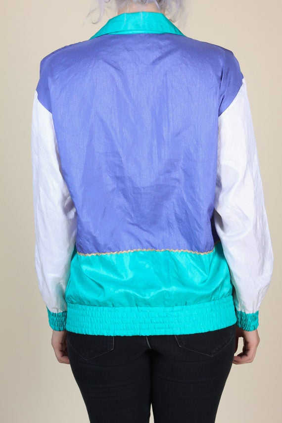 90s Retro Windbreaker