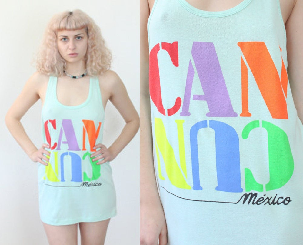 Vintage Tank Top Cancun
