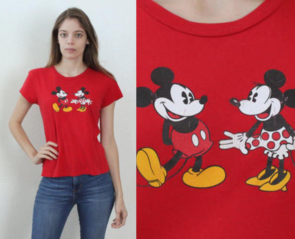 80s Mickey Mouse Shirt