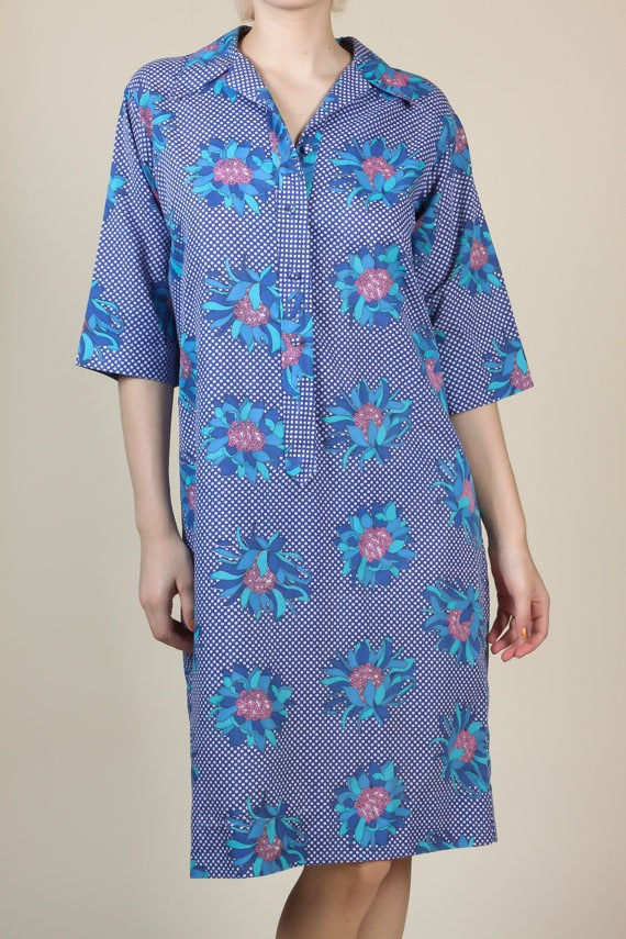 60s Tunic Shirt Dress