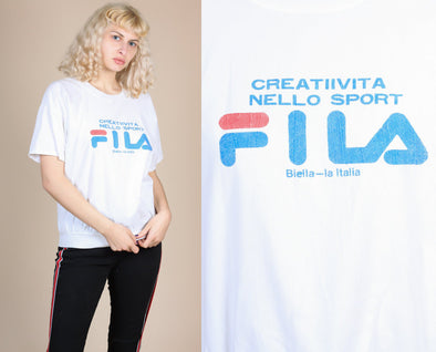 80s Fila Shirt - Large