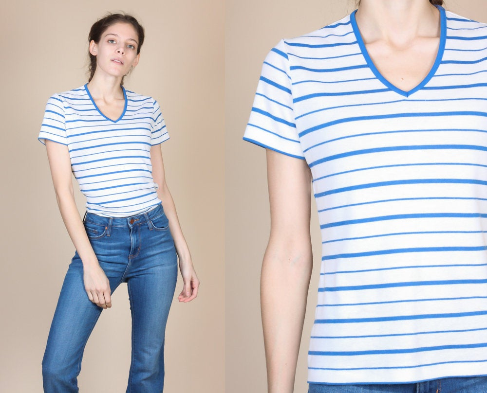 70s Striped Top - Small