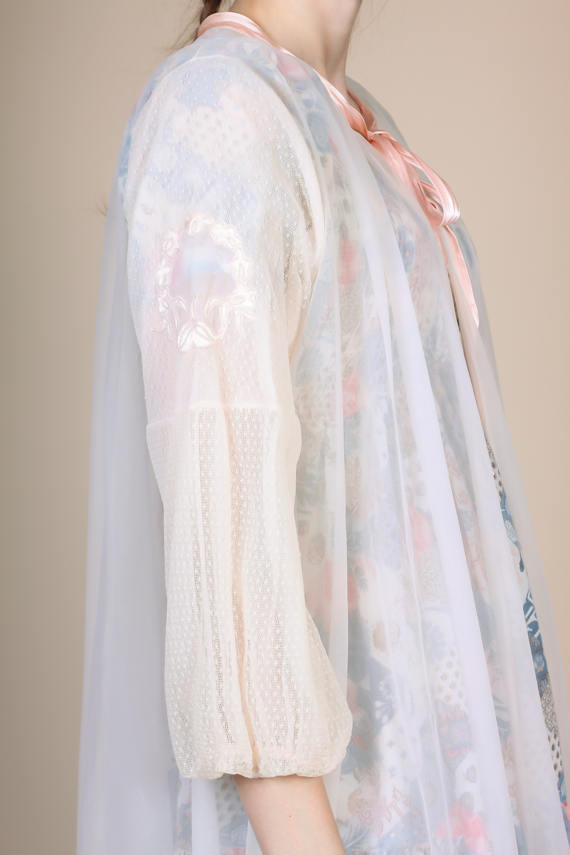 1960s Sheer Robe - Large