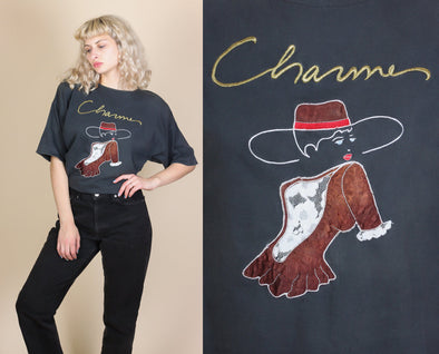 80s Charme French Tee - Extra Large