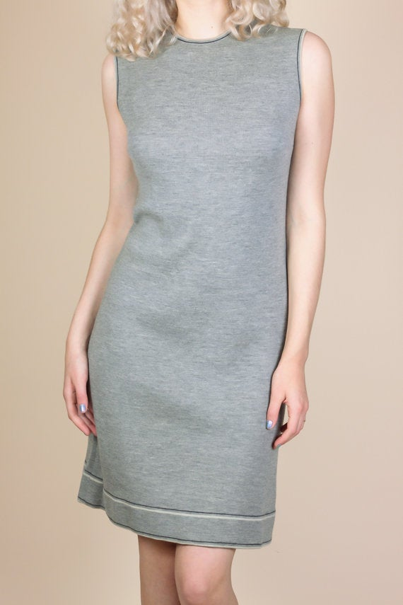 60s Sheath Dress - Medium