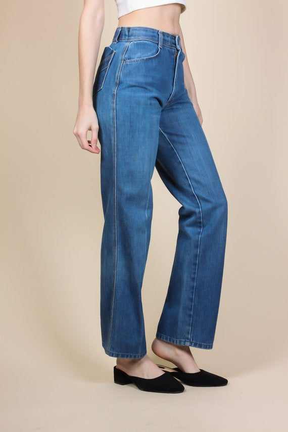 Vintage Mom Jeans - Small