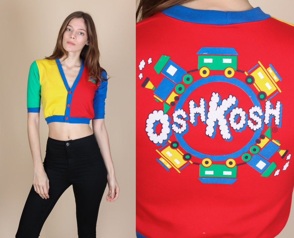 90s Osh Kosh Crop Top - XXS