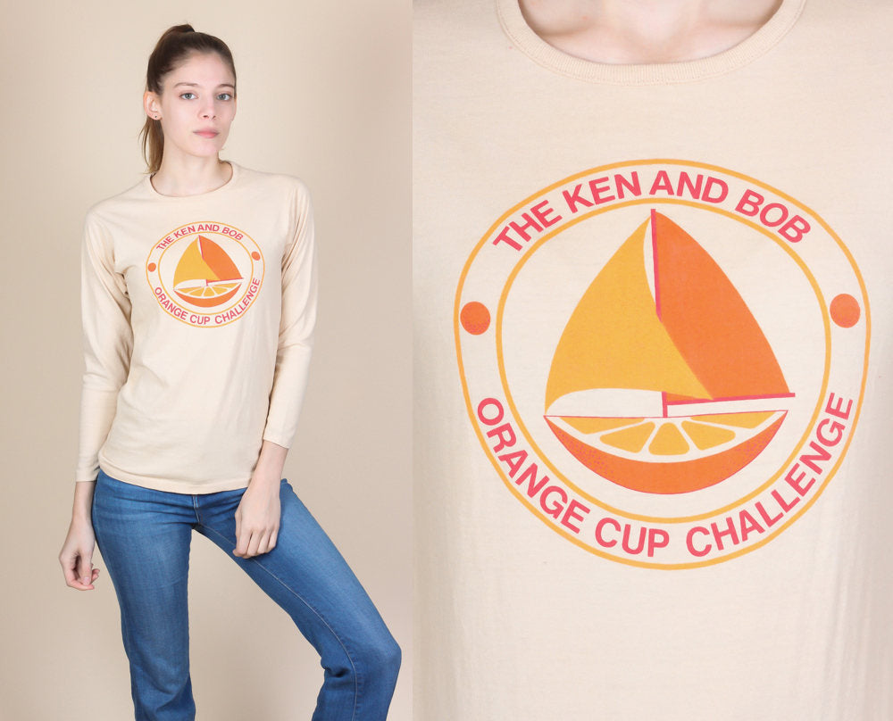 1980 Orange Cup Challenge Sailing Shirt