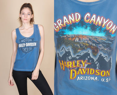 90s Harley Davidson Grand Canyon Tank - Small
