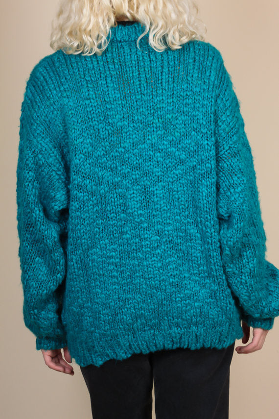 80s Oversize Slouchy Sweater - XL