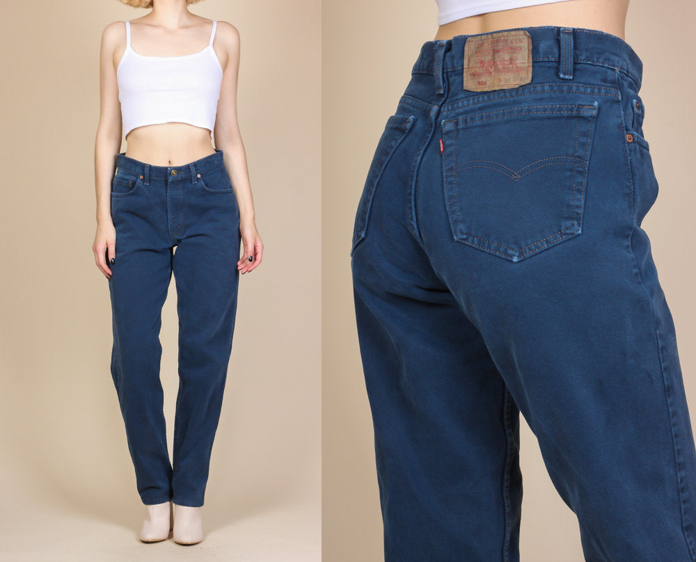 Vintage Levi's High Waisted Jeans - Medium to Large