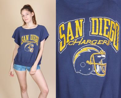 80s San Diego Chargers Shirt - Extra Large