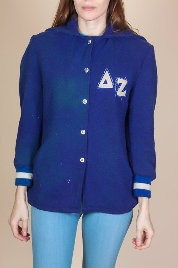 60s Women's Letterman Sorority Coat