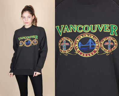 Vintage Vancouver Sweatshirt - Mens Medium
