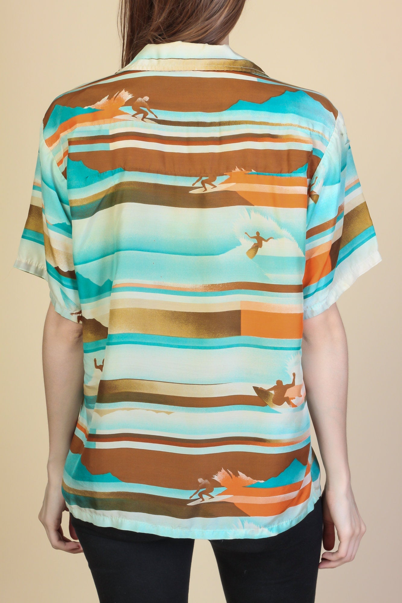 70s Ocean Pacific Surfer Shirt - Mens Small