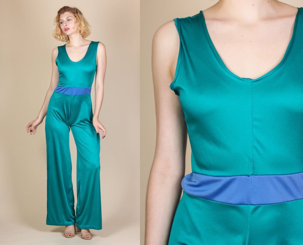 70s Color Guard Uniform Jumpsuit - Medium