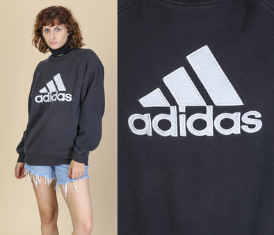 Adidas Pullover Sweatshirt - Men's Small