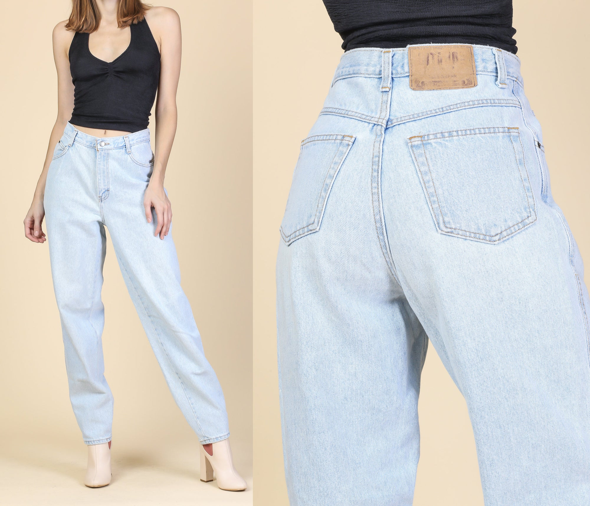 Vintage Gitano High Waist Mom Jeans - Medium, 28
