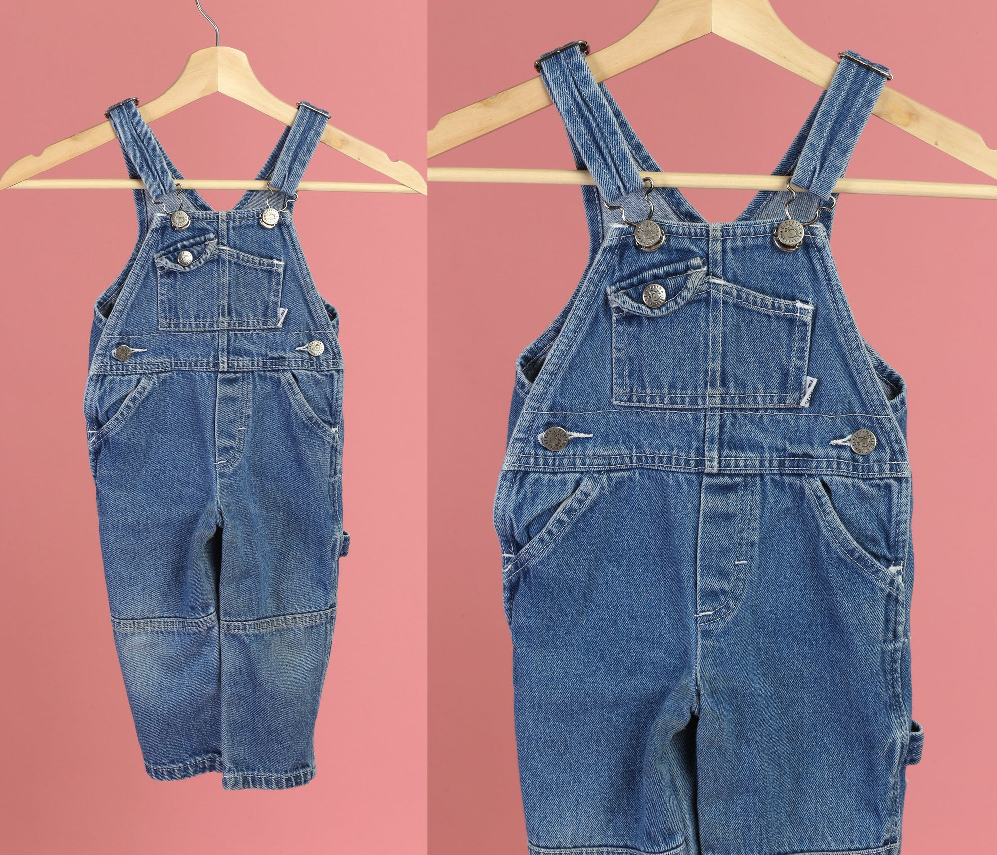 Vintage Toddler Liberty Denim Overalls - 2T