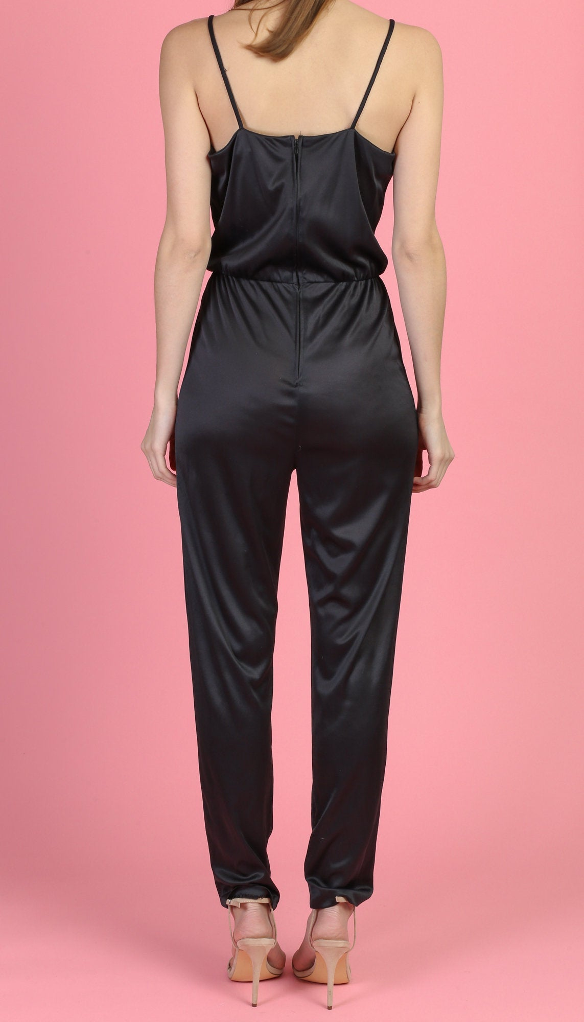 Vintage 80s Disco Jumpsuit - Medium