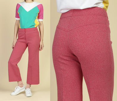 Vintage 60s Kick Flare Pants - Medium